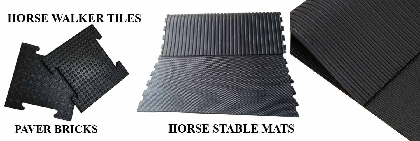 Horse walker Tiles and Horse Table Mats