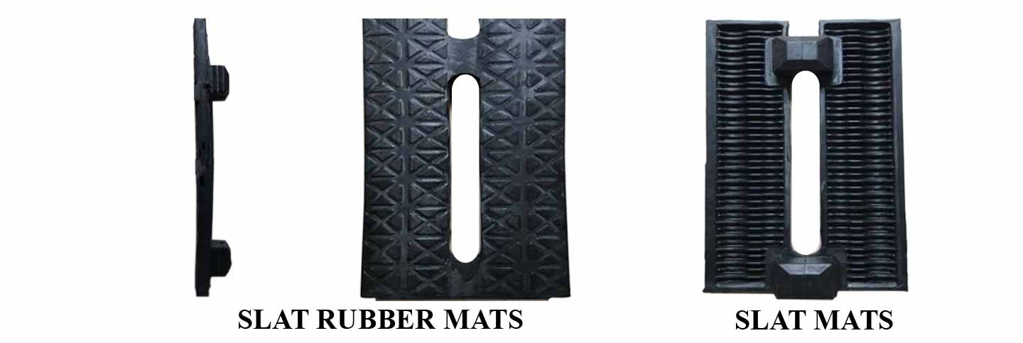 Slat Rubber Mats and Slat Mats